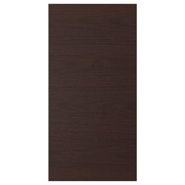 ASKERSUND Anta, marrone scuro effetto frassino, 40x80 cm