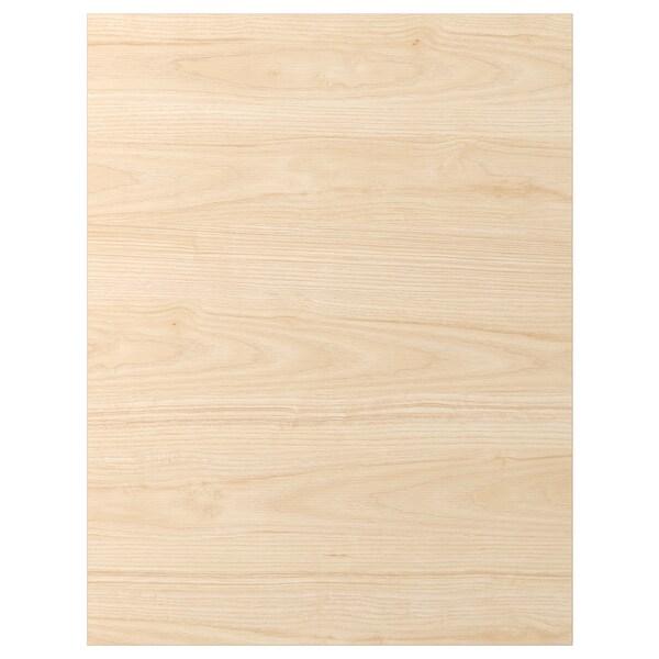 ASKERSUND Rivestimento laterale, effetto frassino chiaro, 62x80 cm