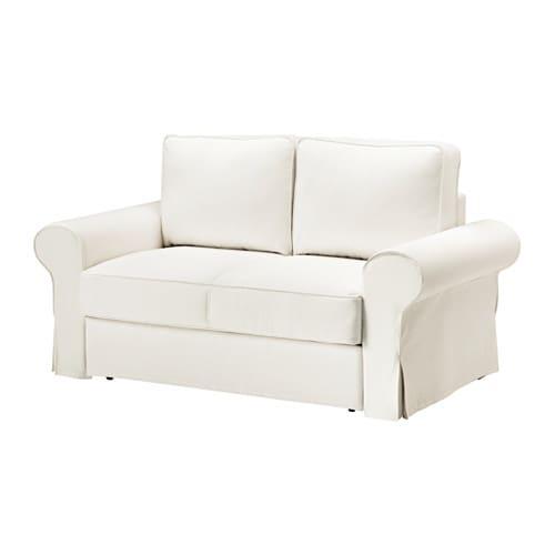 Backabro fodera per divano letto a 2 posti hylte bianco for Divano letto bianco