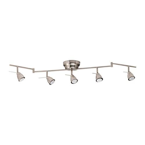 BAROMETER Binario da soffitto, 5 faretti - IKEA