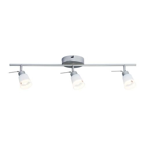 Basisk binario da soffitto 3 faretti ikea - Ikea lampade da soffitto ...