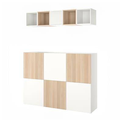 BESTÅ / EKET Combinazione di mobili, 180x42x129 cm