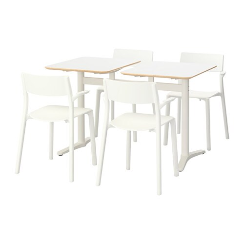 Billsta janinge tavolo e 4 sedie ikea for Ikea tavoli e sedie