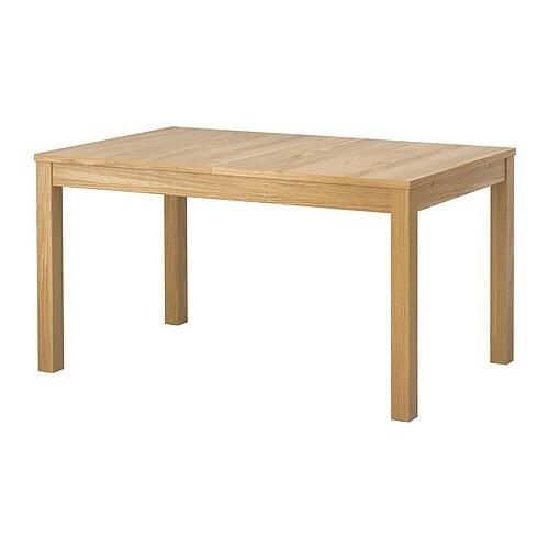 Bjursta tavolo allungabile impiallacciatura di rovere ikea - Tavolo bjursta ikea ...