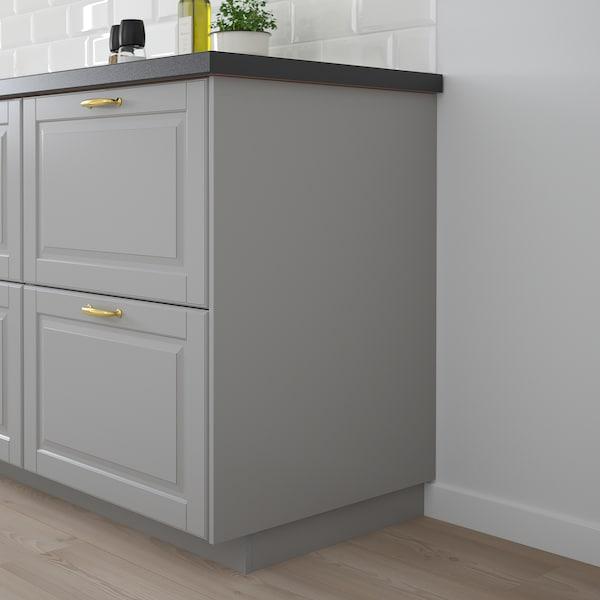 BODBYN Rivestimento laterale, grigio, 39x86 cm