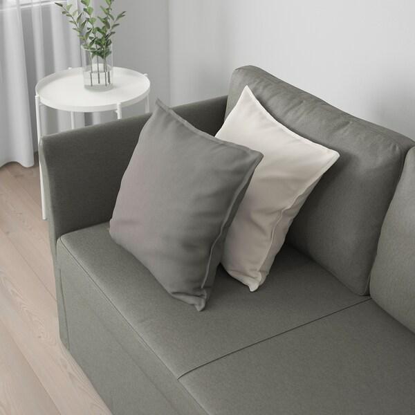 BRÅTHULT Divano a 3 posti, Borred grigio-verde
