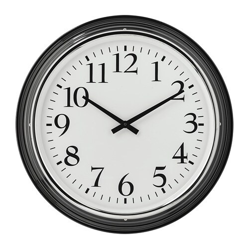 Bravur orologio da parete ikea for Orologio ikea