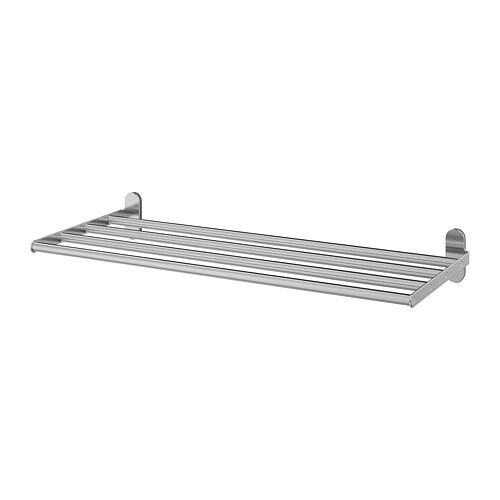 Porta Asciugamani Con Mensola.Brogrund Mensola Con Portasciugamani Ikea