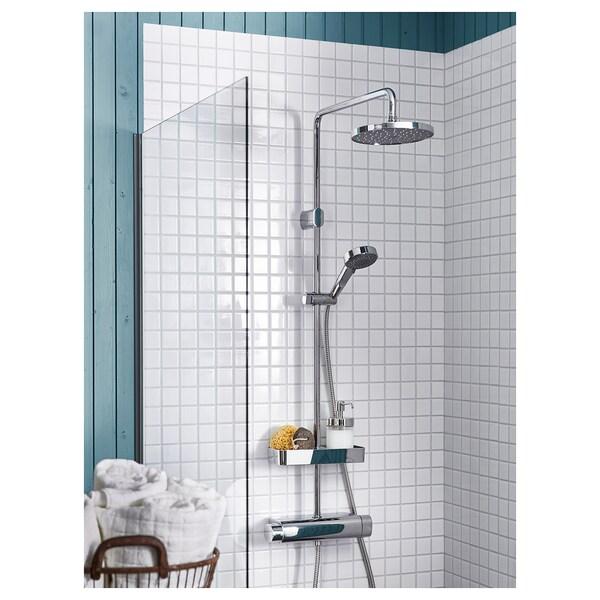 BROGRUND Set doccia/miscelatore termostatico, cromato