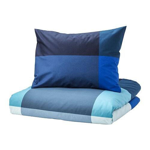 Brunkrissla Copripiumino E Federa 150x200 50x60 Cm Ikea