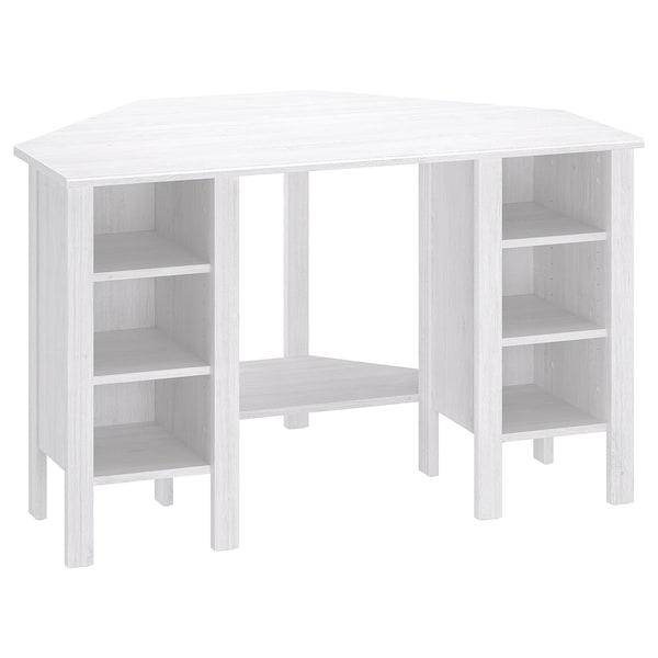 Brusali Scrivania Angolare Bianco Ikea Svizzera