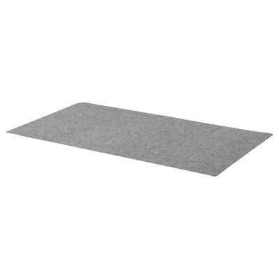 BRYTAREN Tappetino per tavolo, feltro grigio scuro, 90x50 cm