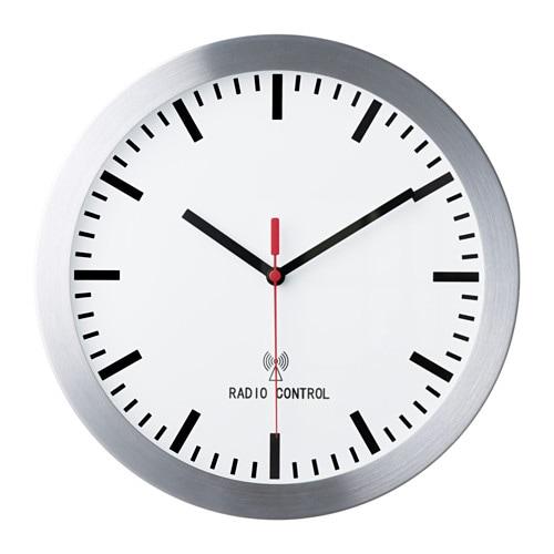 Burrig orologio da parete radiocomandato ikea for Orologio digitale da parete ikea