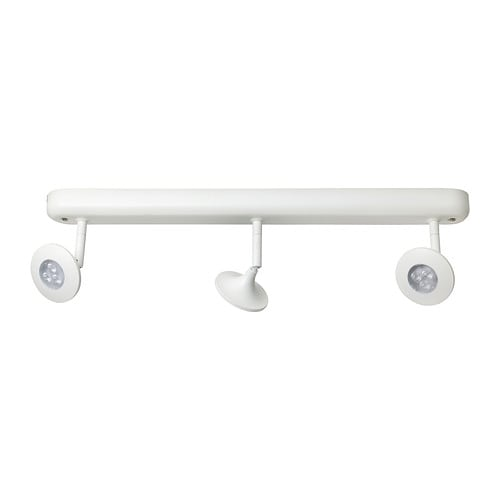 CENTIGRAD Binario soffitto 3 faretti LED - - IKEA