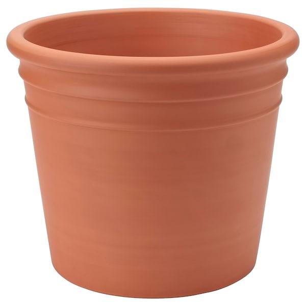 CURRYBLAD Vaso, da esterno terracotta, 35 cm