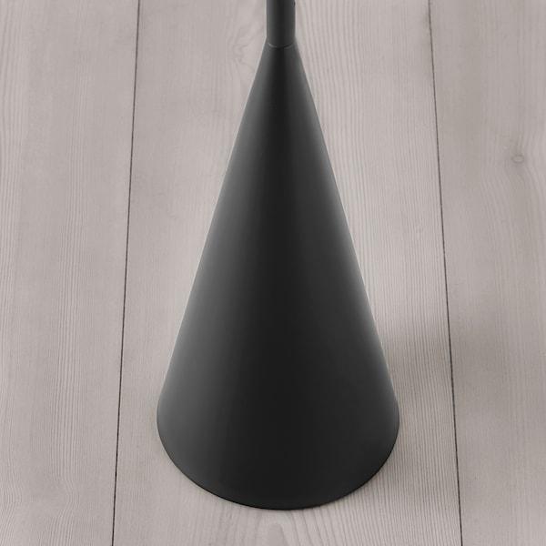 DELAKTIG Lampada da terra a LED, nero