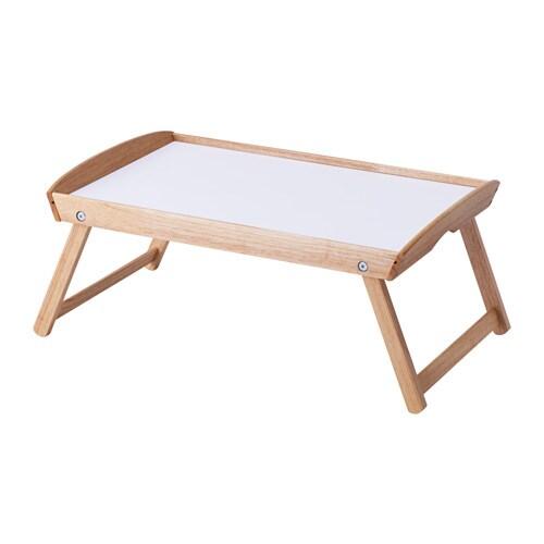 Ikea Tavolino Da Letto.Djura Vassoio Da Letto Legno Dell Albero Della Gomma
