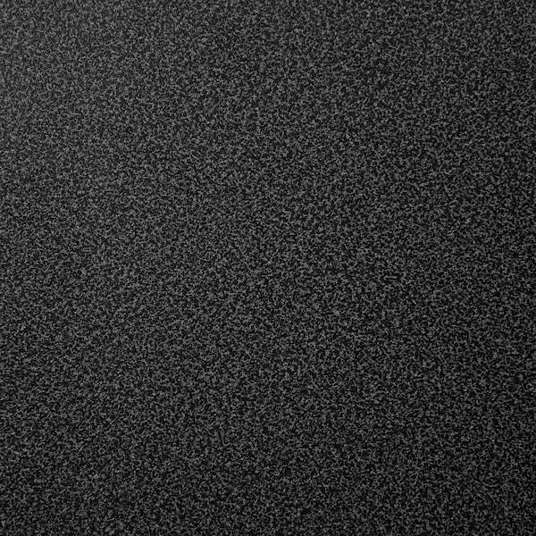 EKBACKEN Piano di lavoro su misura, nero effetto pietra/laminato, 45.1-63.5x2.8 cm