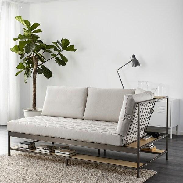 EKEBOL divano a 3 posti Katorp naturale 180 cm 92 cm 88 cm 12 cm 80 cm 157 cm 68 cm 46 cm 3 pezzi