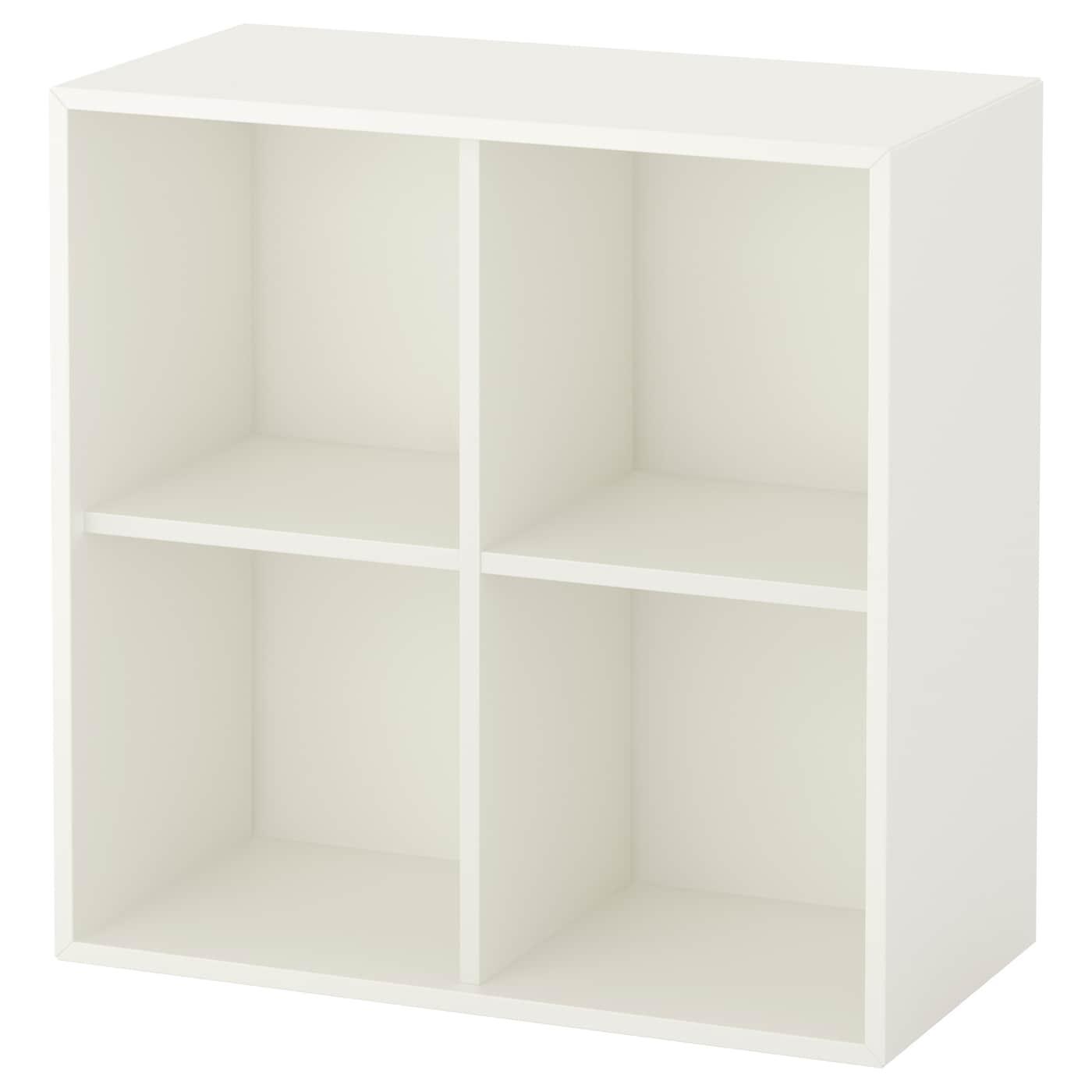 Libreria Da Parete Ikea libreria bianco da parete cubo, ikea eket mobile barbecue e