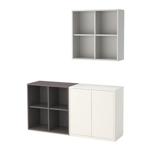 Eket combinazione di mobili con zoccolo bianco grigio - Ikea zoccolo cucina ...