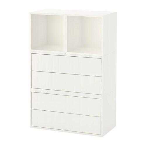 Eket combinazione di mobili da parete bianco ikea - Ikea decorazioni parete ...