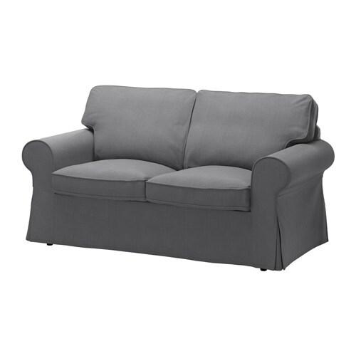 Ektorp fodera per divano a 2 posti nordvalla grigio for Fodere divano ektorp ikea