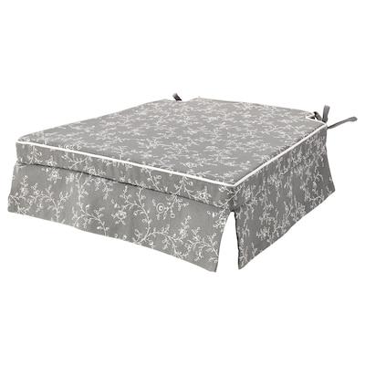 ELSEBET Cuscino per sedia, grigio, 43x42x4.0 cm