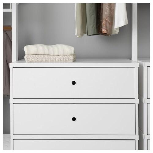 ELVARLI Combinazione di guardaroba - bianco - IKEA Svizzera