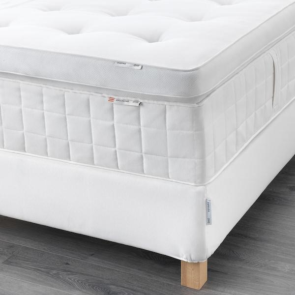 ESPEVÄR Sommier, Hyllestad rigido/Tustna bianco, 180x200 cm