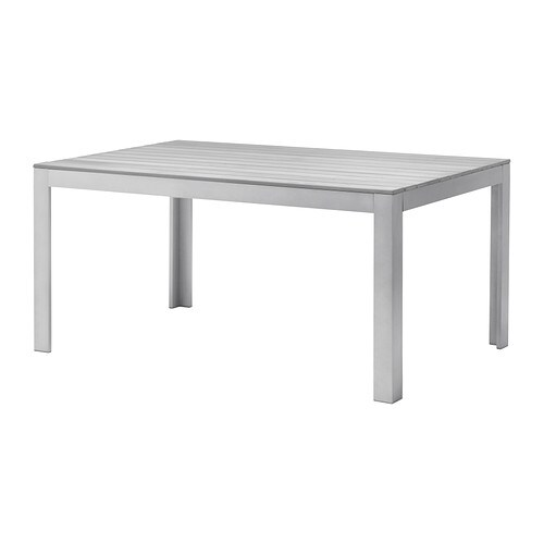 Falster tavolo da giardino grigio ikea for Ikea mobili giardino
