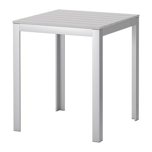 Falster tavolo da giardino grigio ikea for Tavoli ikea giardino