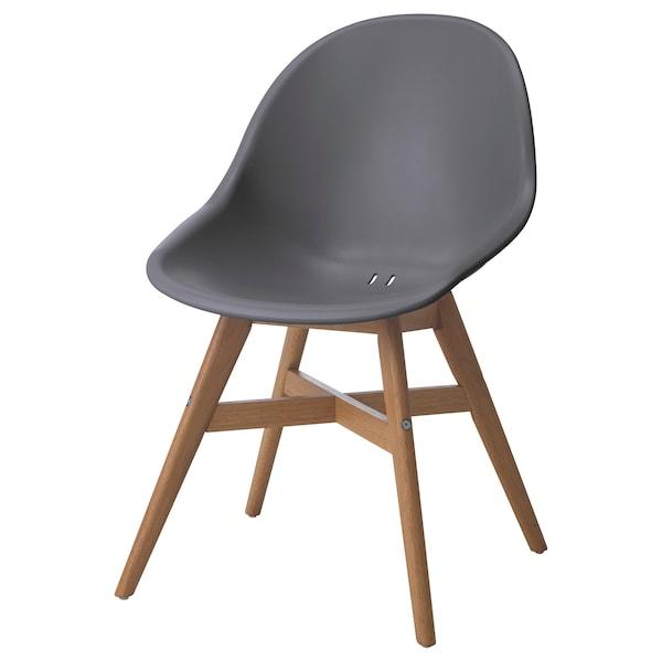 FANBYN sedia grigio 110 kg 58 cm 61 cm 84 cm 49 cm 41 cm 46 cm
