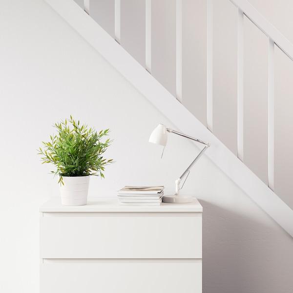 FEJKA pianta artificiale con vaso da interno/esterno bambù da appartamento 26 cm 9 cm