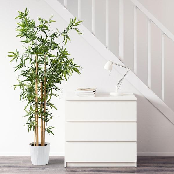 FEJKA Pianta artificiale con vaso, da interno/esterno bambù, 23 cm