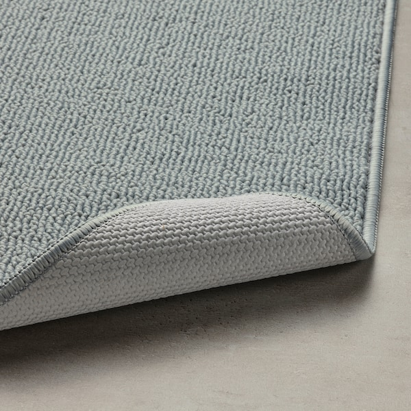 FINTSEN Tappeto per bagno, grigio, 40x60 cm