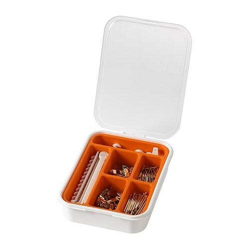 Fixa set di 116 ganci per quadri ikea for Appendere quadri senza chiodi ikea