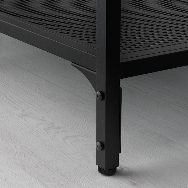 FJÄLLBO Scaffale, nero, 100x136 cm