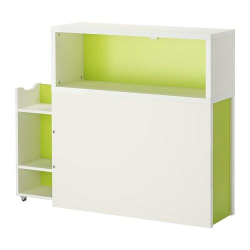 Flaxa testiera con vano contenitore ikea for Ikea letto flaxa