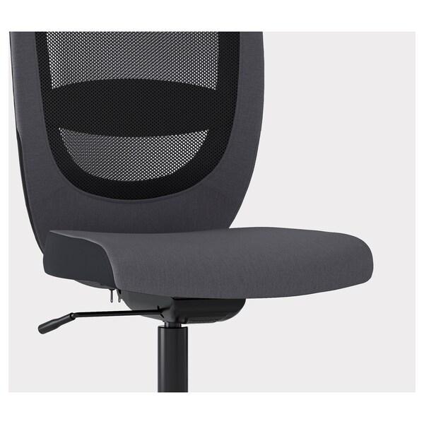 FLINTAN Sedia da ufficio, Vissle grigio