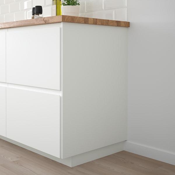 FÖRBÄTTRA Rivestimento laterale, bianco opaco, 62x240 cm