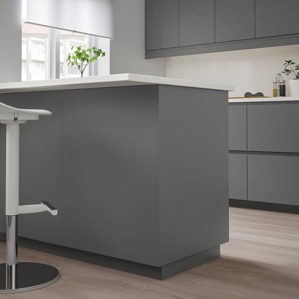 FÖRBÄTTRA Rivestimento laterale, grigio scuro, 62x240 cm