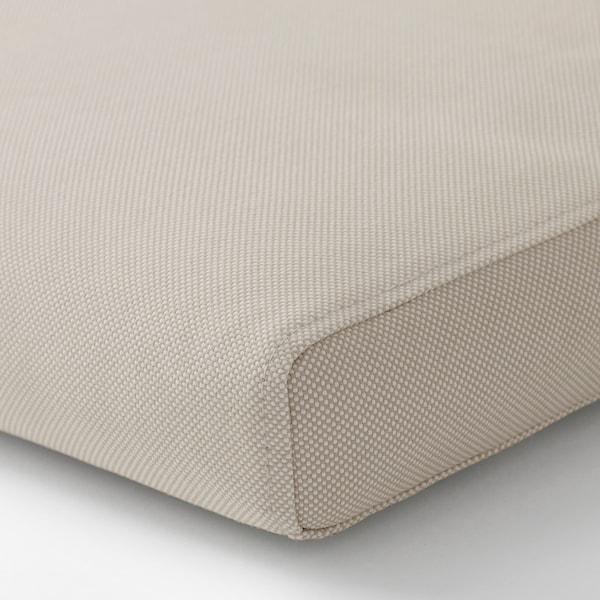 FRÖSÖN/DUVHOLMEN Cuscino sedile/schienale da esterno, beige, 116x45 cm