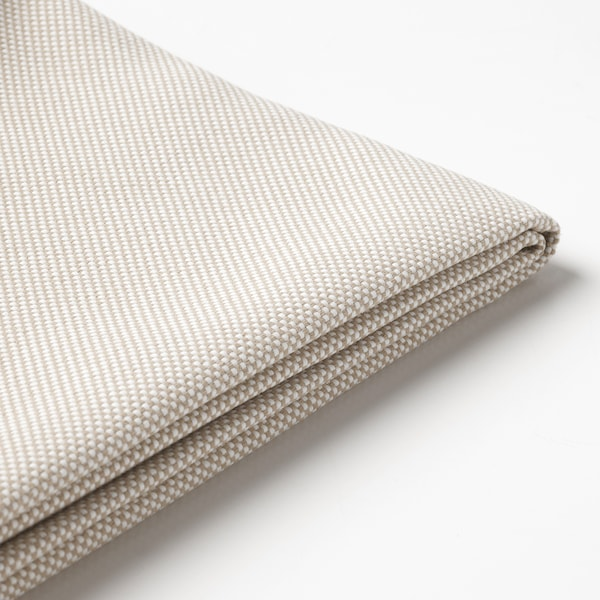 FRÖSÖN Fodera per cuscino sedile, da esterno beige, 62x62 cm
