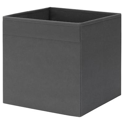 FYSSE Contenitore, grigio scuro, 30x30x30 cm