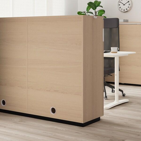 Mobile Bagno Ante Scorrevoli Ikea.Galant Mobile Con Ante Scorrevoli Impiallacciato Rovere Mord