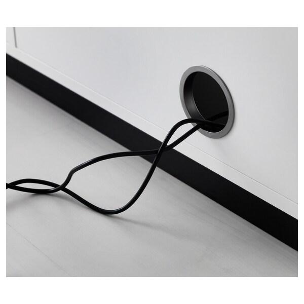 GALANT Mobile con ante scorrevoli, bianco, 160x120 cm