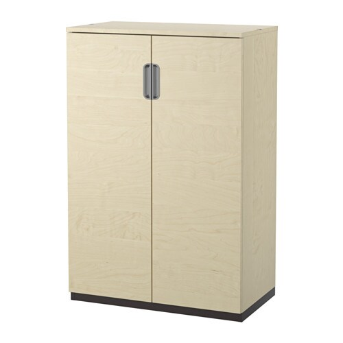 GALANT Mobile con ante - impiallacciatura di betulla - IKEA