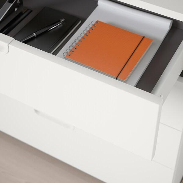 GALANT Mobili con cassetti, bianco, 160x160 cm