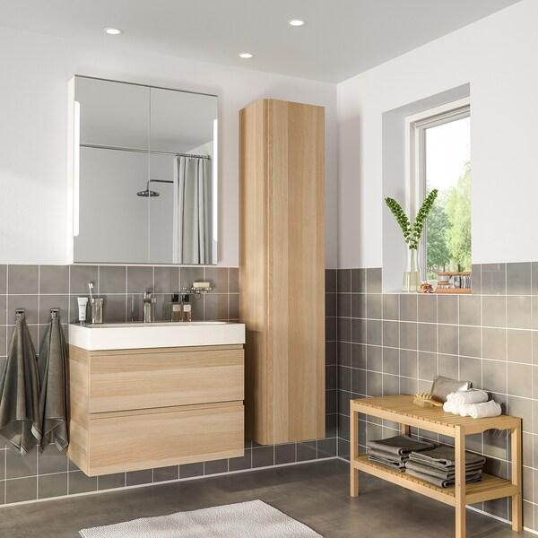 Mobili Bagni Moderni Ikea.Godmorgon Braviken Set Arredo Bagno 5 Pezzi Effetto Rovere